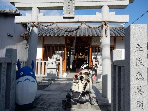 土佐恵美須神社のトトロと