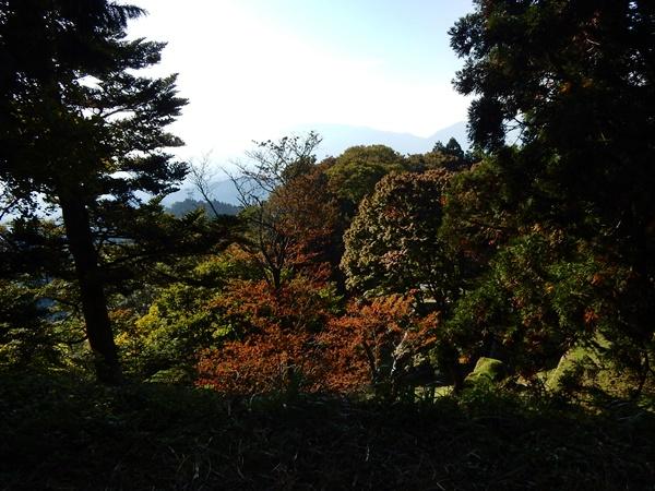 高取山頂上からの景色