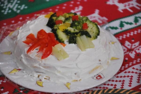 ワンコ用クリスマスケーキ