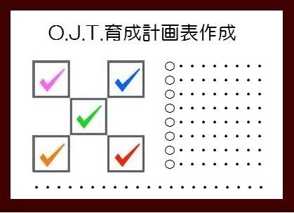 OJT育成計画表作成