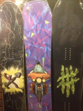 lobster snowboard proty 1617
