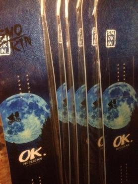 smokin snowboard proty 1617