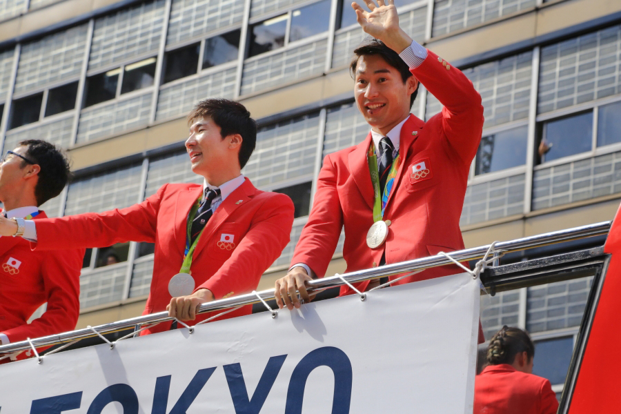 4桐生・飯塚選手