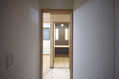 書斎付きの部屋1