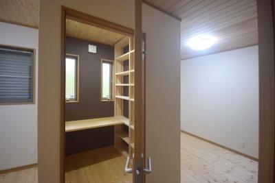 書斎付きの部屋4