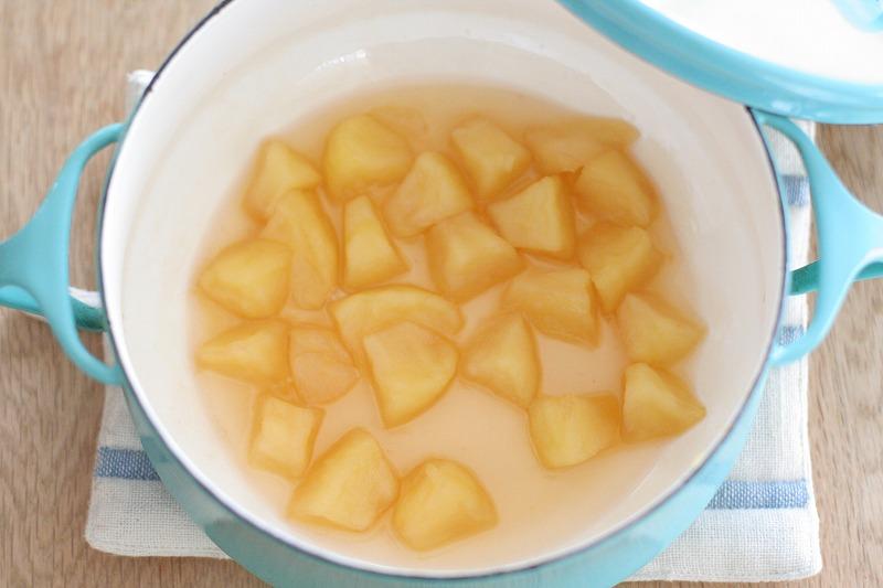 リンゴのシロップ煮2