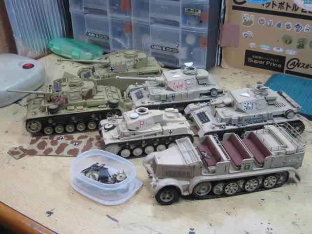 ドイツ軍 四号戦車 など 旧作