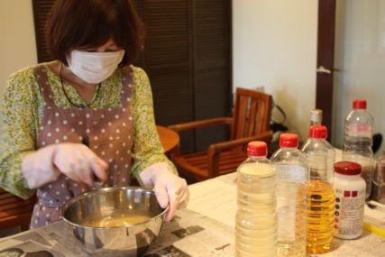 手作り石鹸教室'16