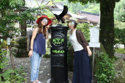 熊野本宮大社八咫烏ポスト