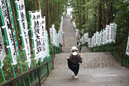 熊野本宮大社階段2