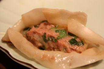 鴨餃子ネギ味噌風味4