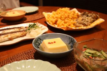 サンマとトウモロコシの天ぷら2