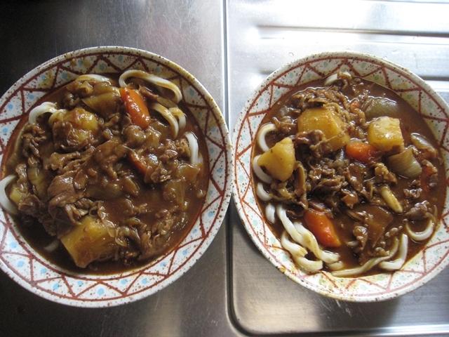 スープカレー→カレーうどん