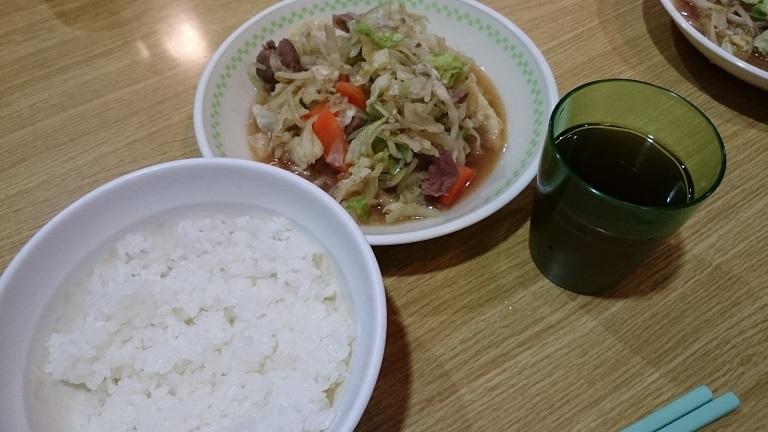 旭岳5回目夕食