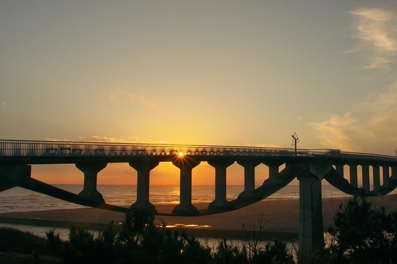 潮騒橋の夕景 2
