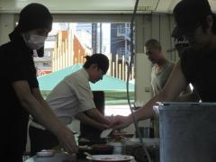 第三陣 煮干しつけ麺 宮元 ~極濃煮干しつけ麺~-16