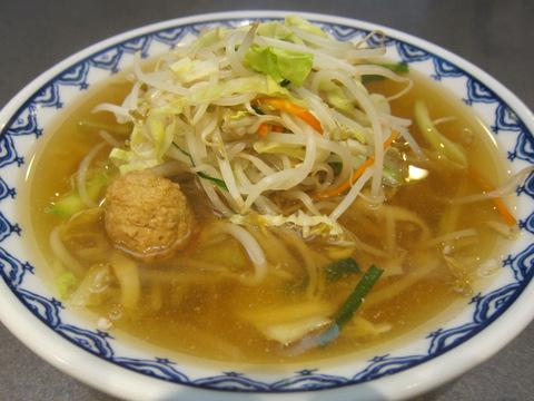 上海軒(野菜ラーメン)