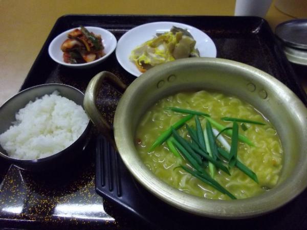 花子さんのキムチ(ラーメン定食)
