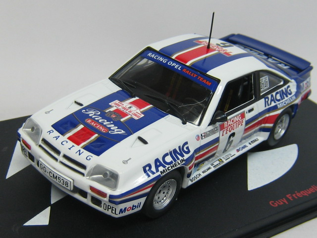dream garage opel manta 400 tour de corse 1983 1 43. Black Bedroom Furniture Sets. Home Design Ideas