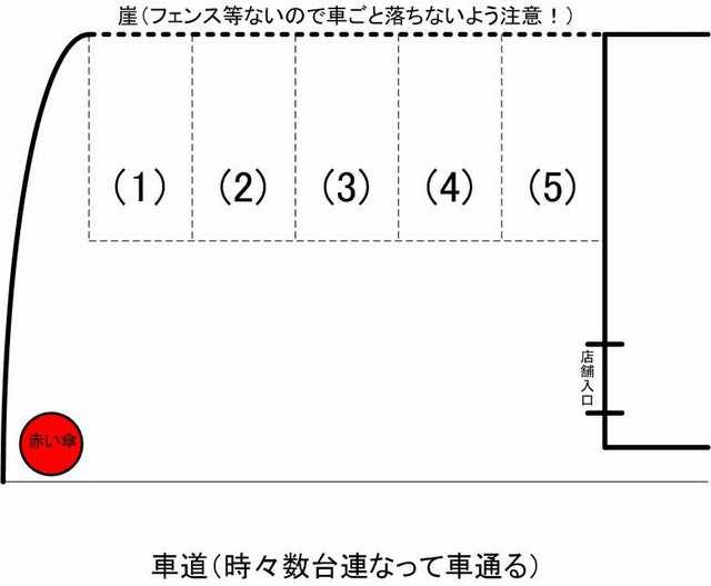 花蓮駐車場見取り図