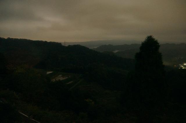 雲海の雲海、午前3時ごろ
