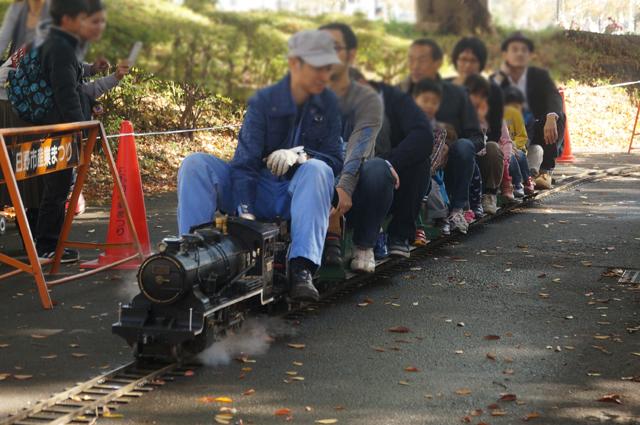 同級生が操縦し、俺の家族も乗る列車