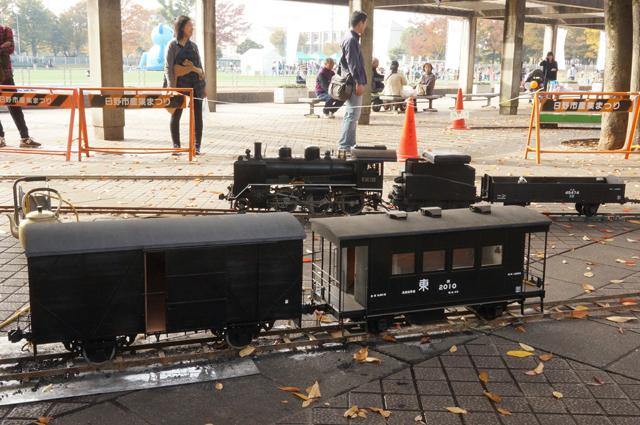 C56と貨物列車