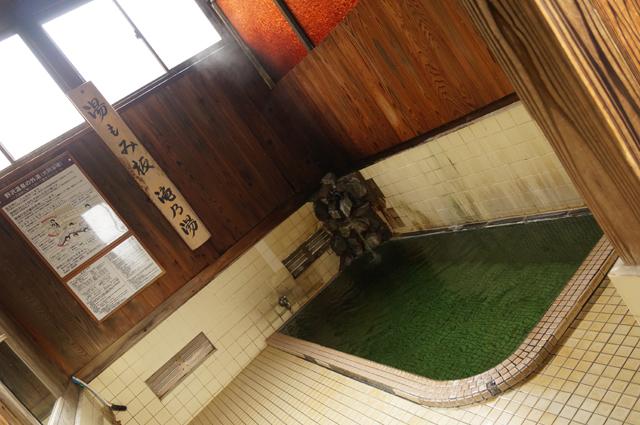 野沢温泉 毎度おなじみ滝の湯