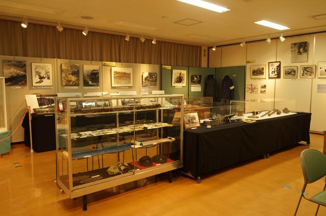 飯山ふるさと館さんのSL関連の展示