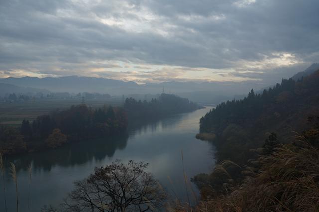 雄大な信濃川
