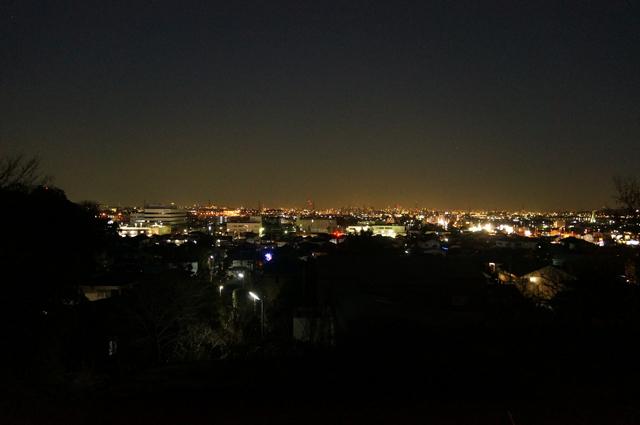 日野の夜景
