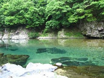 板取川は綺麗!