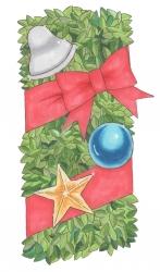 2016クリスマス絵リース