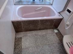 施工後浴槽