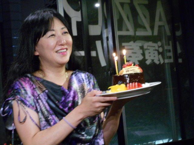誕生日ケーキありがとう!!