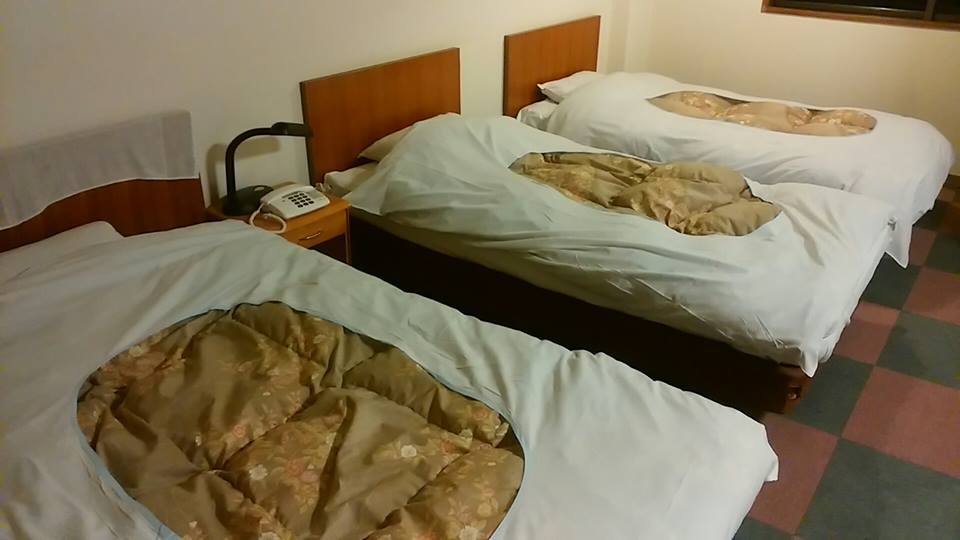 どこに寝る?
