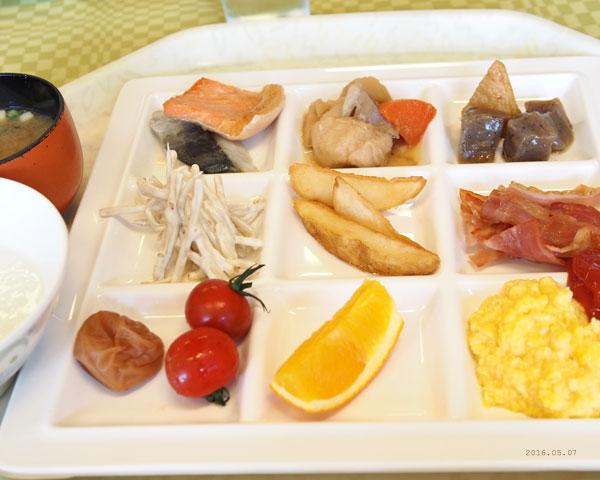 私の朝定食
