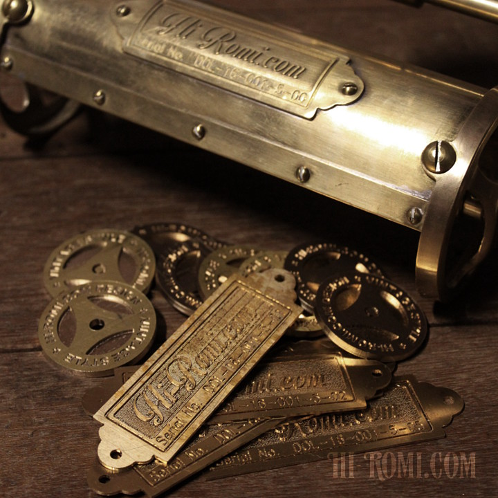 Hi-Romi.com ハイロミドットコム オリジナル照明 製作 カスタム 真鍮 蛇腹 シザーアーム ピクチャーライト