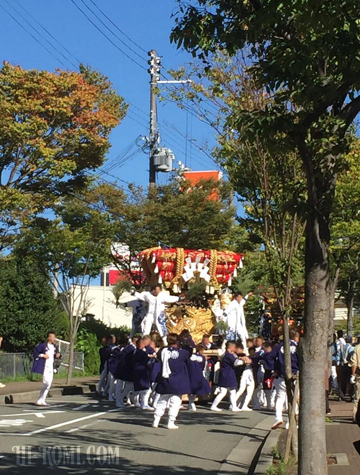 座布団神輿 神輿 秋祭り 五穀豊穣