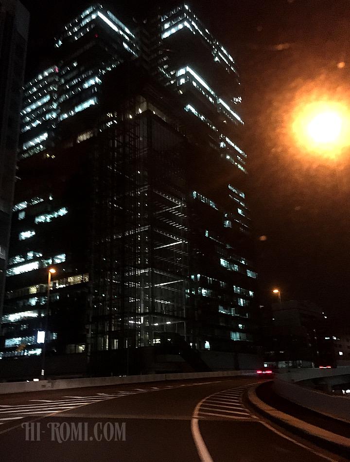 東京 出張 夜景 首都高