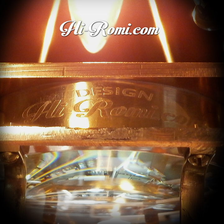 当店オリジナルの工業系オリジナルデザイン・スチームパンク吊下げ照明。ミニベル型シェード付きペンダントライト。Hi-Romi.com ハイロミドットコム 20161221-2