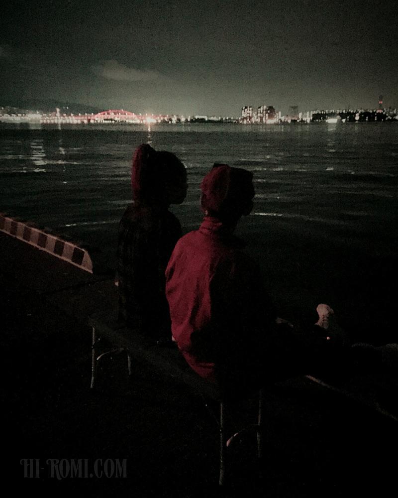 神戸 港 一望 夜景