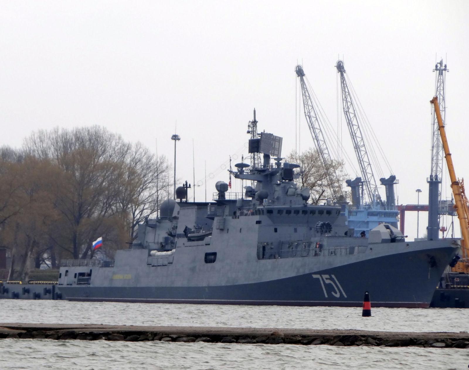 第2のプロジェクト11356R警備艦(...