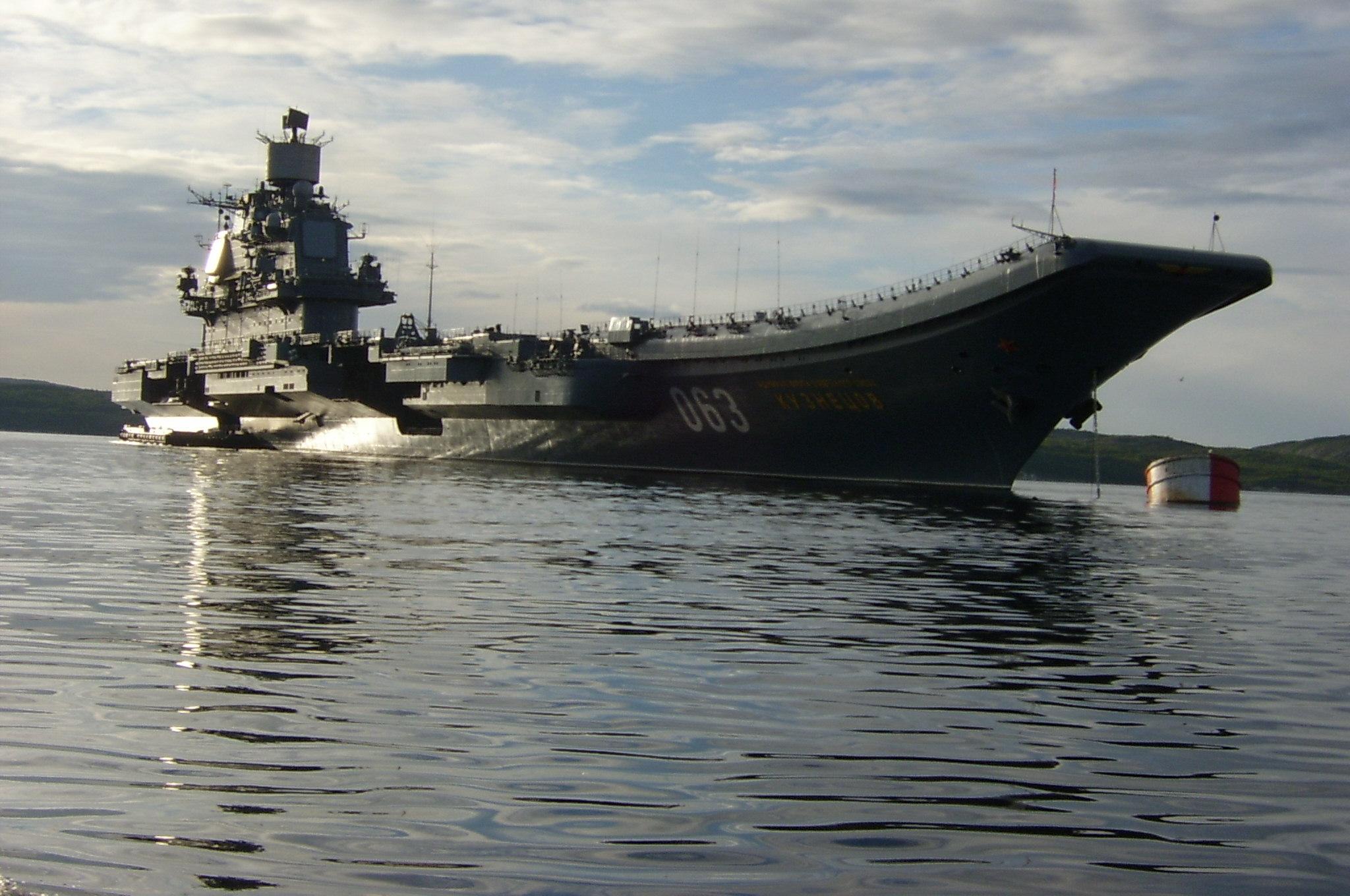 фото адмирала кузнецова авианосец