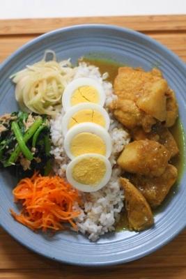 鶏肉と長芋のチェッターヒン風カレー2