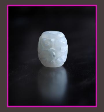 ネフライト管玉 (1)