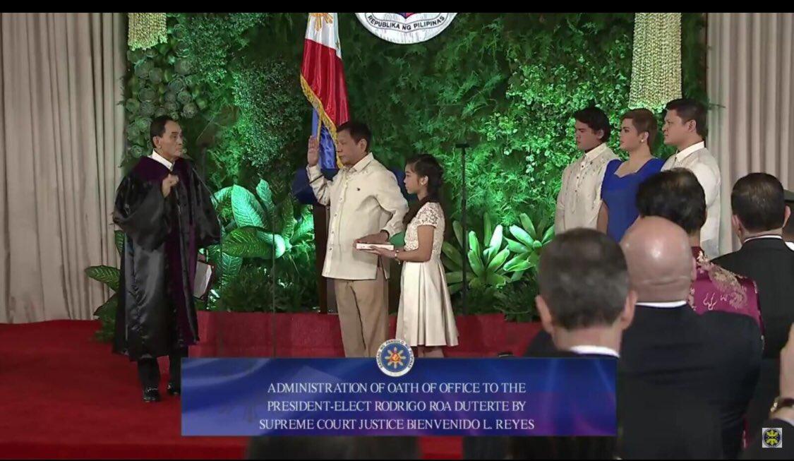 新しいフィリピン大統領