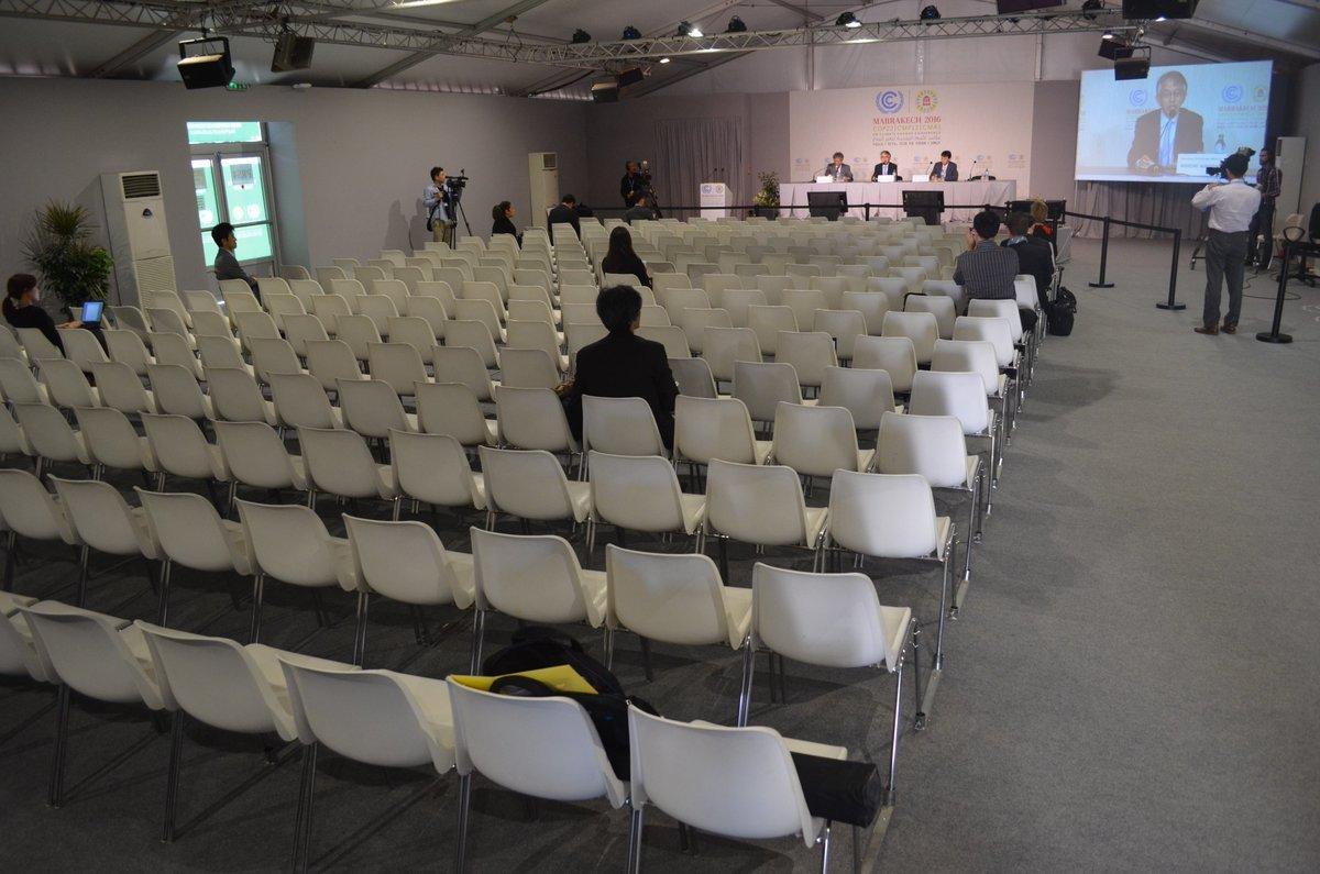 COP22 で日本政府も記者会見