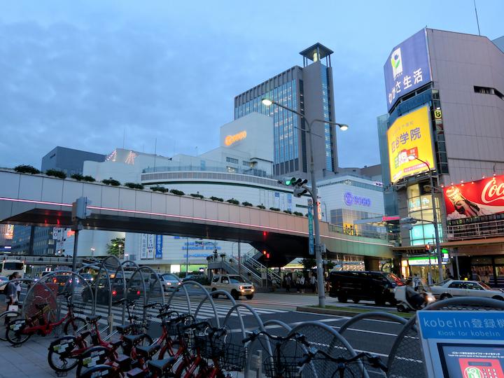 神戸そごうビアガーデン