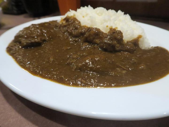 肉丼富士晃のカレー